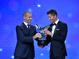 Левандовски — лучший игрок УЕФА сезона 2019/20