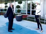 Президент «Реала» посетил тренировку команды