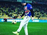 Артем Милевский вернулся на поле «Олимпийского» (ФОТО)