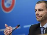 Президент УЕФА — о пандемии коронавируса: «Никто не знает, когда всё это кончится»