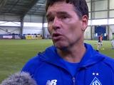 Аргентинский тренер «Динамо» Самсо: «Хотел бы отметить нападающего «Динамо» 2004 г.р.: характер, скорость, результативность»