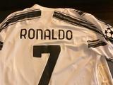 «Спасибо, король». Жерсон Родригес получил футболку от Криштиану Роналду (ФОТО)