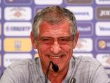 Пресс-конференция. Фернанду Сантуш: «Матч Украина — Португалия будет игрой равных соперников высокого уровня»