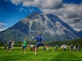 ВИДЕО: «Динамо» тренирует на сборе завершение атак