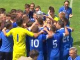«Динамо U-19» получило золотые медали за победу в юношеском первенстве Украины (ВИДЕО)