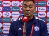 Главный тренер сборной Казахстана: «Украина превосходит нас в индивидуальном плане, это хороший результат»