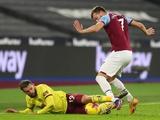 Ярмоленко в очередном матче «Вест Хэма» получил лишь восемь минут игрового времени