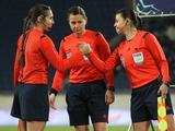 Официально. Украинская женская бригада арбитров назначена на матч Лиги Европы
