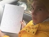 Сергей Сидорчук от имени «Динамо» написал письмо пленным украинским морякам (ФОТО)