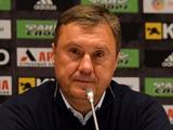 «Александрия» — «Динамо» — 0:0. Послематчевая пресс-конференция (ВИДЕО)