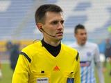 «Динамо» — «Колос»: арбитры. Судья в поле — Денис Шурман, который впервые будет работать на матче с участием «Динамо»