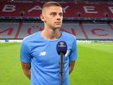Виталий Миколенко: «Играть с «Баварией» — это праздник футбола»