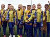 «Вірні збірній. Діти» на матче Украина — Хорватия