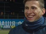 Илья Забарный в специальной повязке и хорошем настроении (ФОТО)