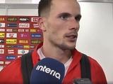Томаш Кендзера: «Рад, что помог своей команде в атаке...»