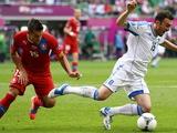 Греция — Чехия — 1:2. После матча. Билек: «Первый тайм получился великолепным»