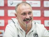 Главный тренер сборной Беларуси продекламировал «Заповіт»