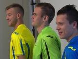 Ярмоленко, Коноплянка и Коваль приняли участие в фотосессии сборной (ВИДЕО)