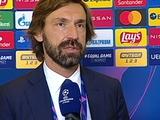 Андреа Пирло: «Не могу сказать, что мы выдали идеальных 90 минут в матче с «Динамо»