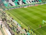 ФОТО: «Ференцварош» Реброва провел первый после паузы матч со зрителями на трибунах