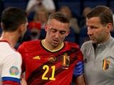 Защитник сборной Бельгии Тимоти Кастань получил перелом черепа в матче с Россией