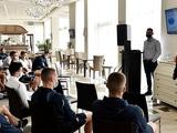 Сборную Украины посетил Франческо Баранка, рассказавший футболистам о нечестных играх (ФОТО)