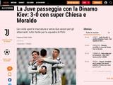 Итальянские СМИ: «Не дай Бог недооценивать такие команды, как киевское «Динамо»