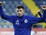Защитник Боснии и Герцеговины Ахмедоджич: «Немного испугались после 0:1 с Украиной»