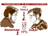 Чикирис Олег: Американское начало. Дубов уступил в первом матче финала в понедельник на онлайн-турнире по быстрым шахматам