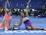 Открытый чемпионат Австралии 2021: Элизе Мертенс и Арина Соболенко выиграли титул в парном разряде