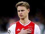 Де Йонг станет самым дорогим нидерландским футболистом в истории