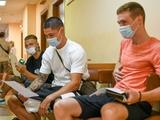 Игроки «Динамо» вышли из отпуска и проходят медосмотр