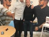 Александр Алиев и Артем Милевский воссоединились в Киеве (ФОТО)