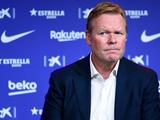 Куман: «Игра «Барселоны» стала более командной»