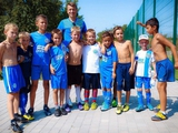 Зозуля и Ротань организовали детский футбольный лагерь
