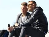 Шевчук и Ротань посетили матч молодежных составов «Динамо» и «Олимпика»