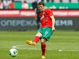 Тарас Михалик провел 100-й матч за «Локомотив»