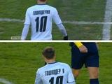 Футболист «Черноморца» потерял букву на футболке — фейл дня (ФОТО)