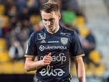 Денис Олейник забил гол пяткой в чемпионате Финляндии, чем спас СИК от поражения (ВИДЕО)