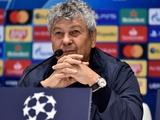 «Динамо» — «Гент» — 3:0. Послематчевая пресс-конференция. Луческу: «На данный момент я всем доволен»