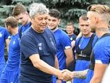 «С большими надеждами начинаем нашу работу!» — Луческу провел первую тренировку в «Динамо»