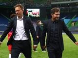 Нагельсманн прокомментировал стычку с Симеоне во время матча