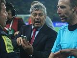 ФИФА дисквалифицировала Луческу на один поединок за поведение в матче с Украиной