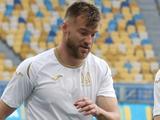 Кадры сборной Украины в цикле Евро-2020: Андрей Ярмоленко