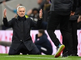Феерическое ФОТО Жозе Моуринью во время матча «Тоттенхэм» — «Ливерпуль»
