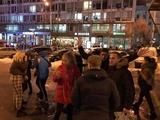 Киевские футбольные фанаты нашли и заставили извиниться подростков, которые избили прохожего