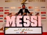 Месси в пятый раз получил «Золотую бутсу» (ФОТО)