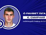 Динамовец стал лучшим игроком 19-го тура по версии УПЛ