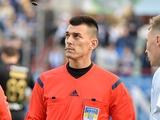 Стал известен арбитр матча «Мариуполь» — «Динамо»