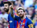 Пике и Месси поссорились на тренировке «Барселоны»